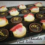 Mini fruit & Chocolate Tartlets
