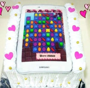 Game Birthday Cake