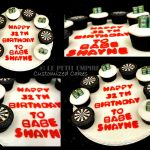 Darts Cup Cakes