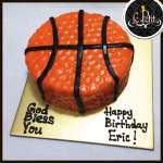 Customized Basketball Cake Ball