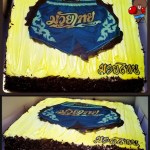 Muay Thai Boxing Customized Fondant Cake