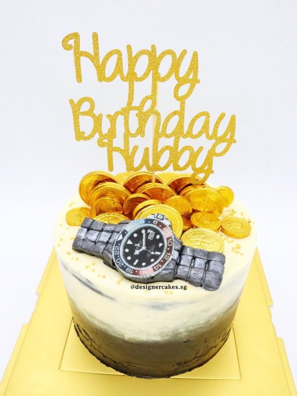 拉钱蛋糕 Money Pulling Cake Watch Design For Men
