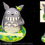 3D Cat Sculpted Fondant Cake