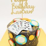 Royal Poker Cake