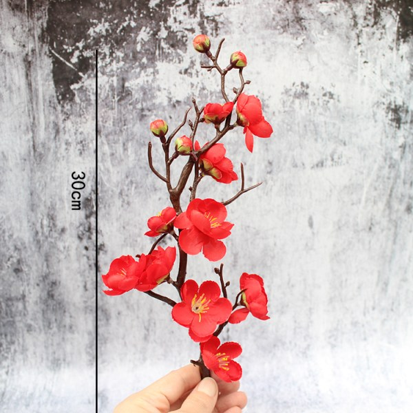 Red Plum Blossom Cake Topper 红梅花 (2)
