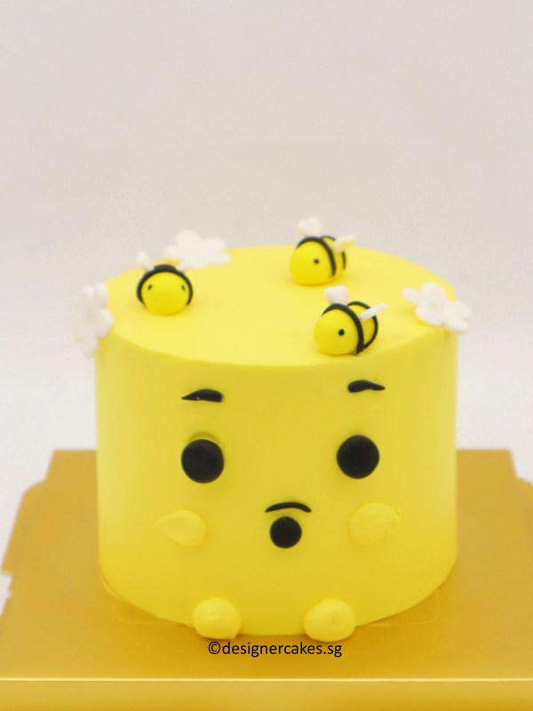 [MINI] YELLOW BEAR CAKE
