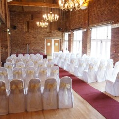 Wedding Chair Covers Chelmsford Resin Wicker Rocking White Dusky Gold Designer To Go