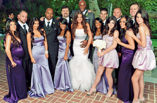 Khloe Kardashian Vera Wang Mermaid Wedding Dresses