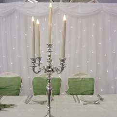 Chair Covers Wedding Hire Essex Bean Bag Chairs Cheap Walmart Artificial Candle - Designer To Go