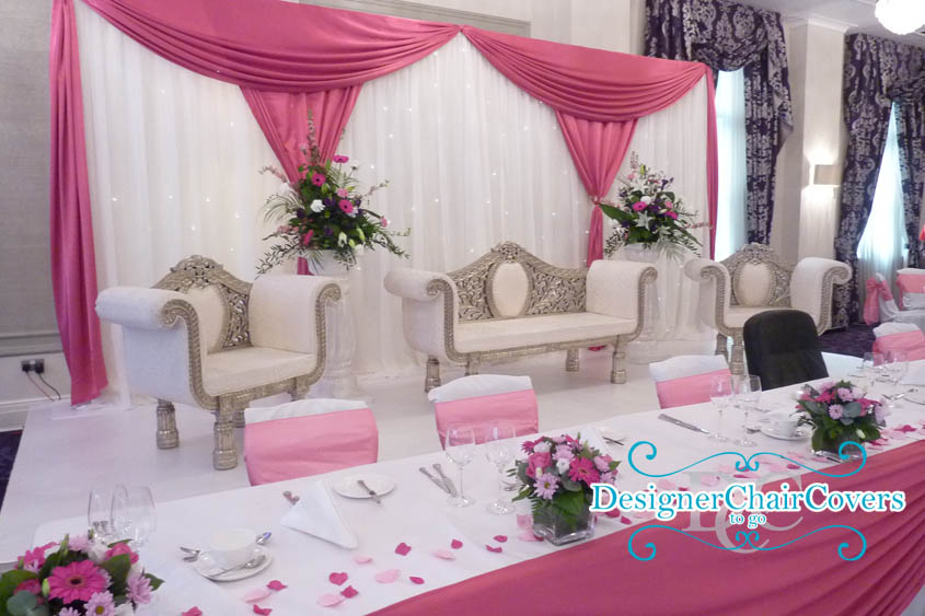 King And Queen Wedding Chair Hire Designer Chair Covers