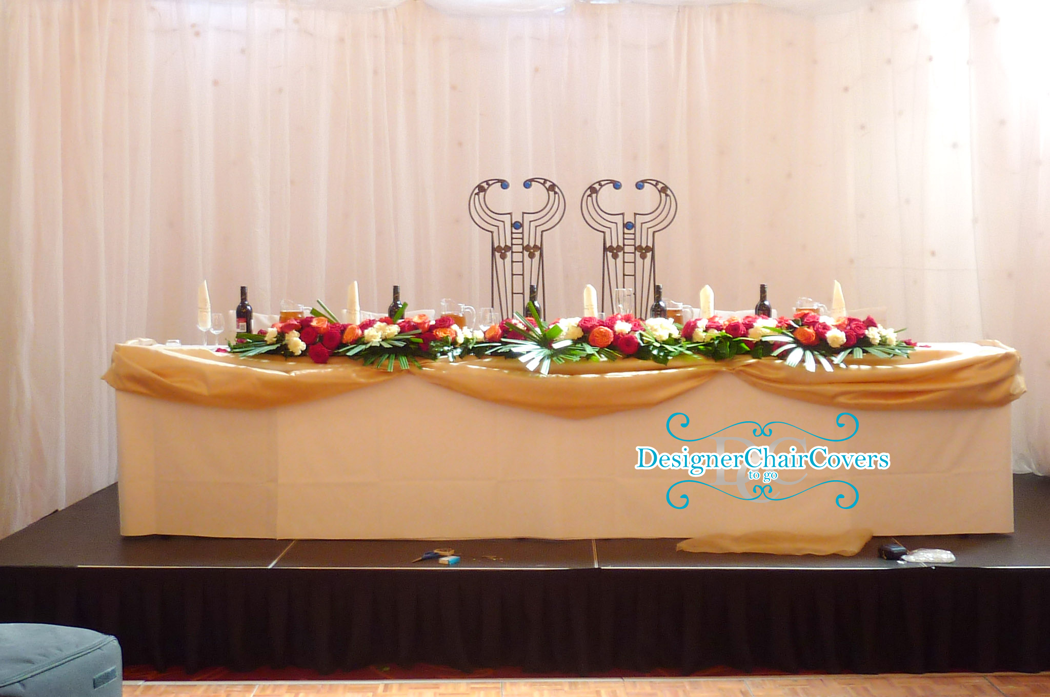 chair cover hire croydon small chairs for living room wedding backdrops our range designer covers to go