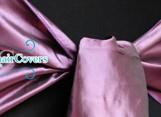 dark purple taffeta sash