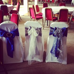 Wedding Chair Covers Kingston Navy Tufted Three Ways To Include For Your Sashes Designer
