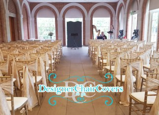 great fosters wedding ceremony