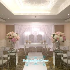 Events By Designer Chair Covers Espresso Dining Chairs To Go Wedding Ceremony