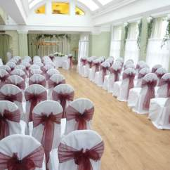 Burgundy Chair Covers Wedding Folding Camping Table And Chairs