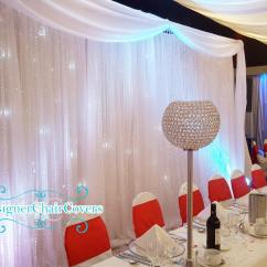 Flower Chair Sashes For Wedding Black Directors Crystal Backdrop