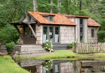 Country Tiny Home Design Jeffrey Dungan Designer Cottages