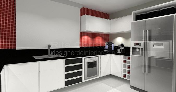 03 cozinha grande bancada preta e basculantes