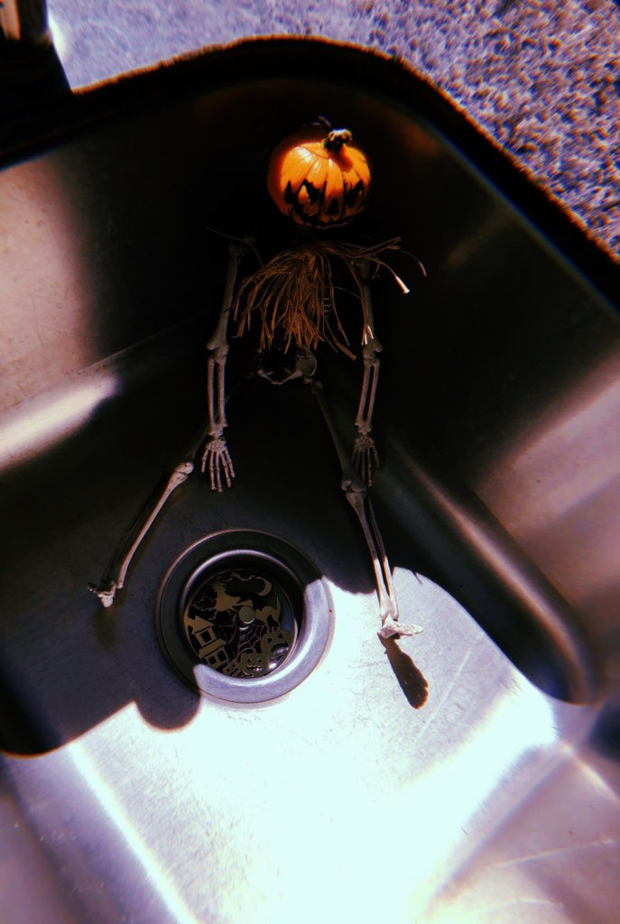 Kitchen Sink Stopper  Trick or Treat  Jewelry For Your