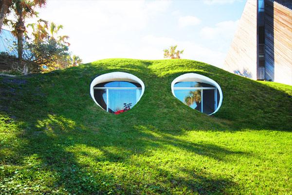 Окна дома для хоббита