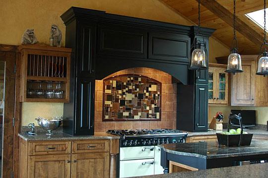 kitchen cabinet knobs ideas black faucets mountain home backsplash | designer glass mosaics