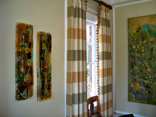 Fused Glass Wall Art Panels  Designer Glass Mosaics