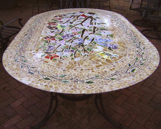 Furniture  Designer Glass Mosaics