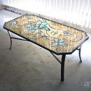 Mosaic Butterfly Table Top