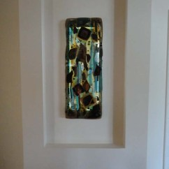 Kitchen Cabinet Knobs And Pulls Cabinets Glass Doors Fused Abstract Panel   Designer Mosaics ...