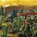 Tuscan Scene Glass Mural