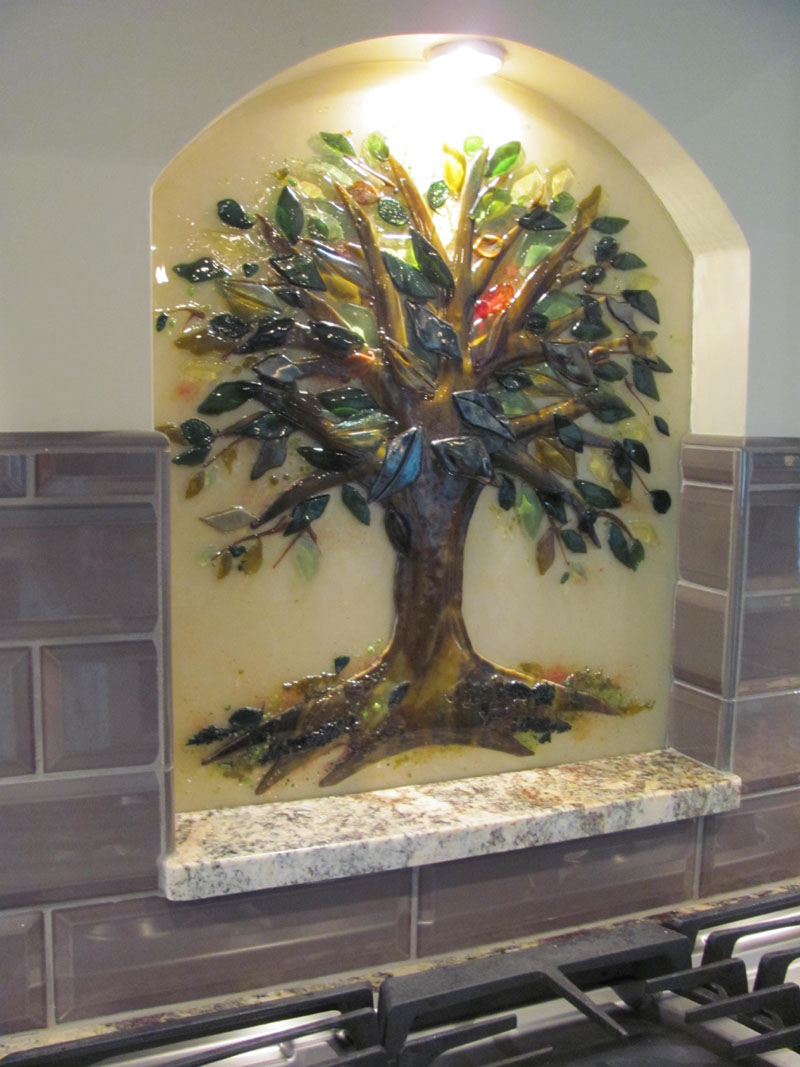 kitchen pulls and knobs cabinet styles tree of life backsplash | designer glass mosaics