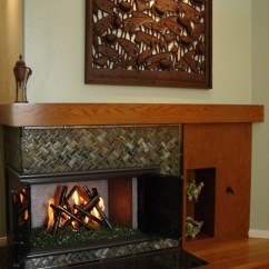 Kitchen Cabinet Pricing Maui Hotels With Kitchens Glass Bamboo Fireplace Surround | Designer Mosaics