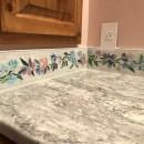 Mosaic Floral Border Tile