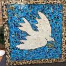 Dove Mosaic Mural