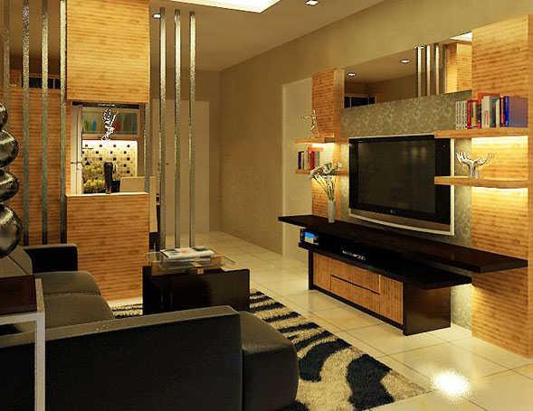 desain ruang keluarga rumah minimalis001a  Interior Design