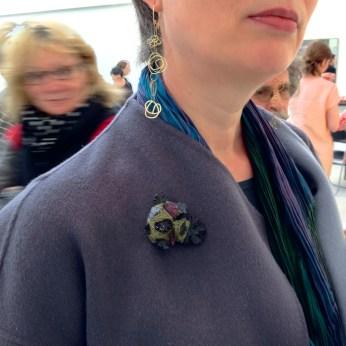 Iris Bodema brooch #COLLECT14