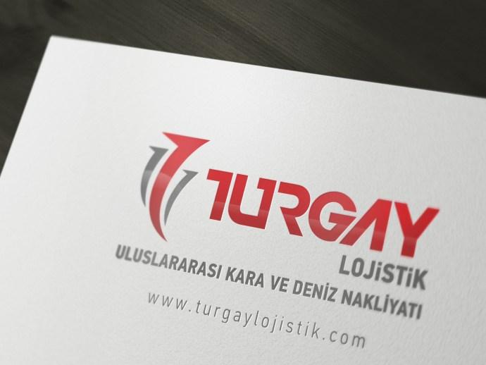 Turgay Lojistik Logo Tasarım