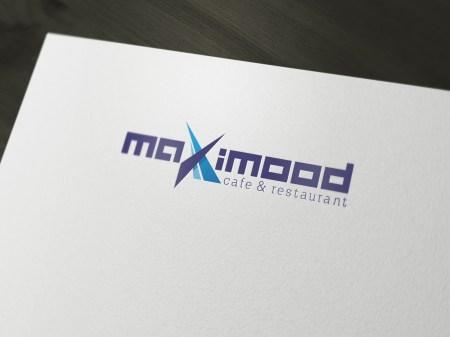 Maximood Cafe & Restaurant Logo Tasarım