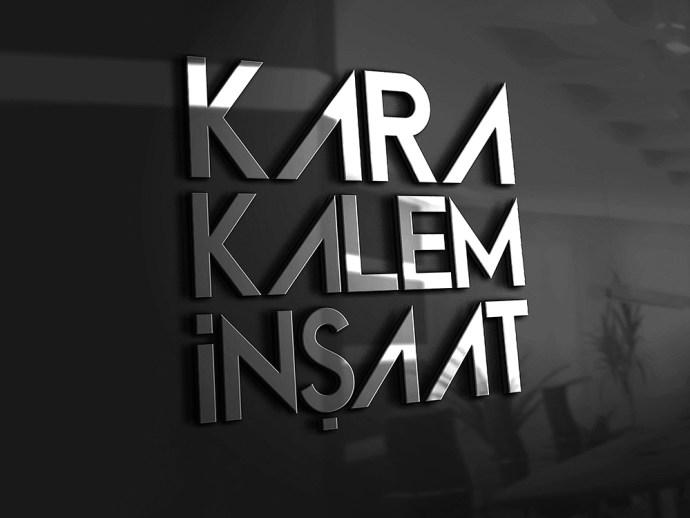Karakalem İnşaat Logo Tasarım