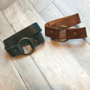 Wrap Leather Bracelet by 48 North Designs