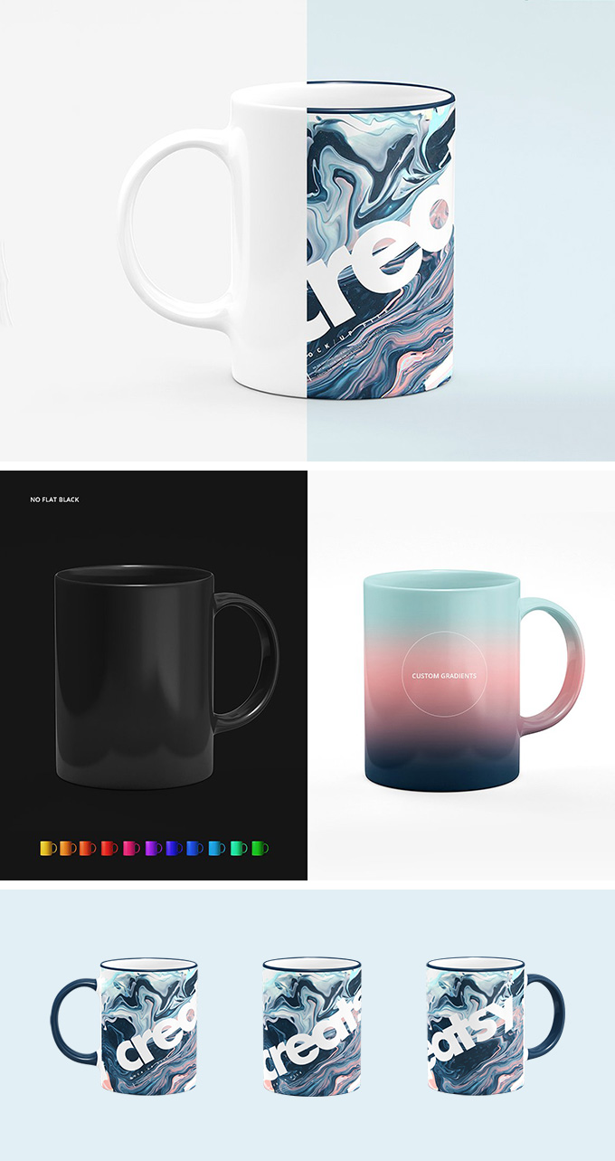 We help you bring your ideas to life by rendering the most accurate 3d mockups for you. Mockup Caneca 7