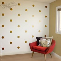 Polka Dot Pattern Wall Decal