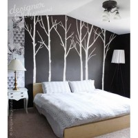 Winter Trees Wall Decal