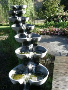 Island water feature image