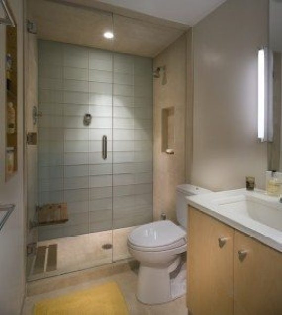 Bathroom Lighting from the Side