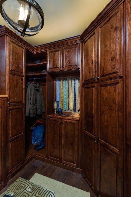 Closet Factory Custom Closet is floor-based