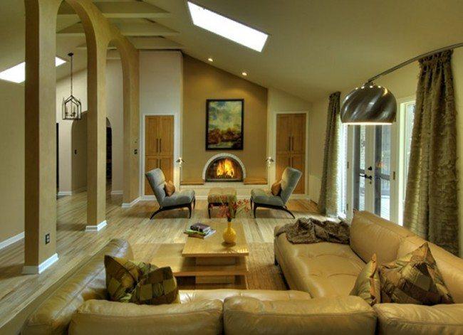 high ceiling design