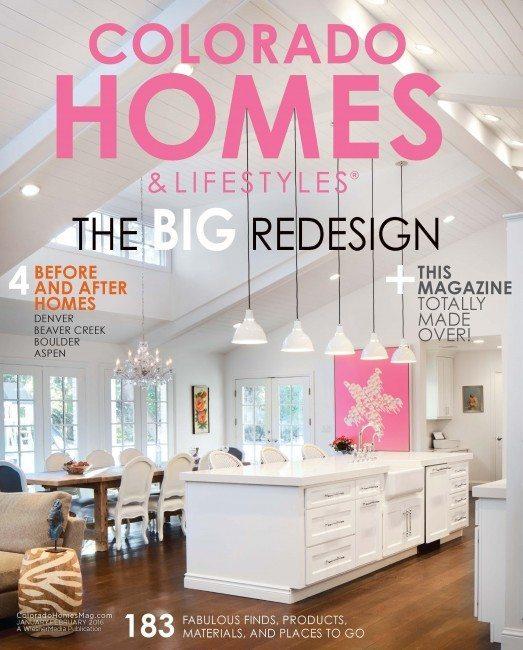 Colorado Homes & Lifestyle Cover