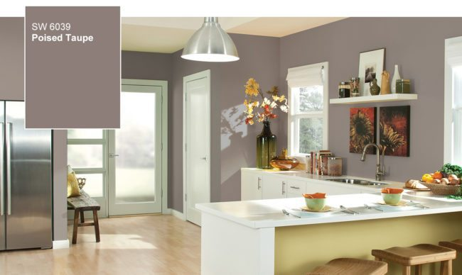 2017 Color of the Year - Sherwin Williams Poised Taupe